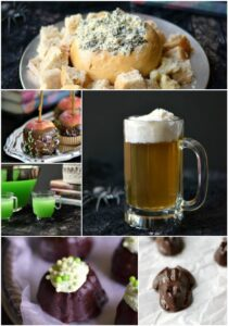 Harry Potter Party Food Collage