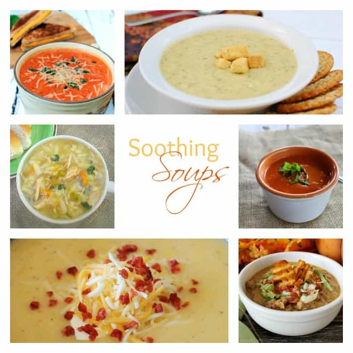 Best of the Weekend Soothing Soups Features cookingwithcurls.com