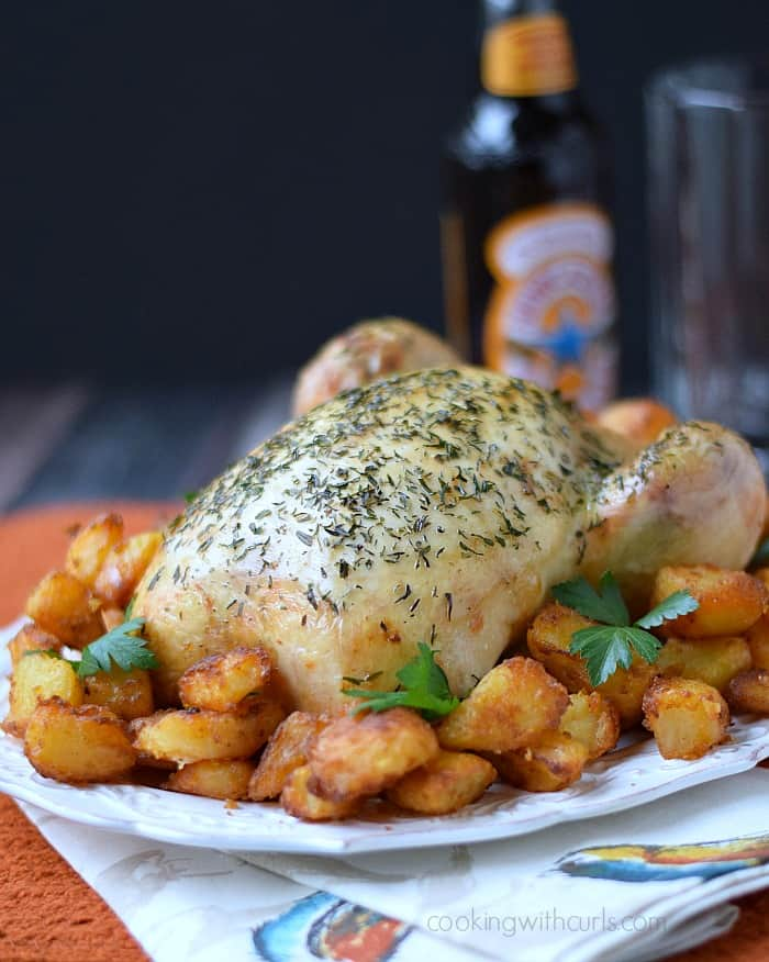 Classic Roast Chicken | cookingwithcurls.com