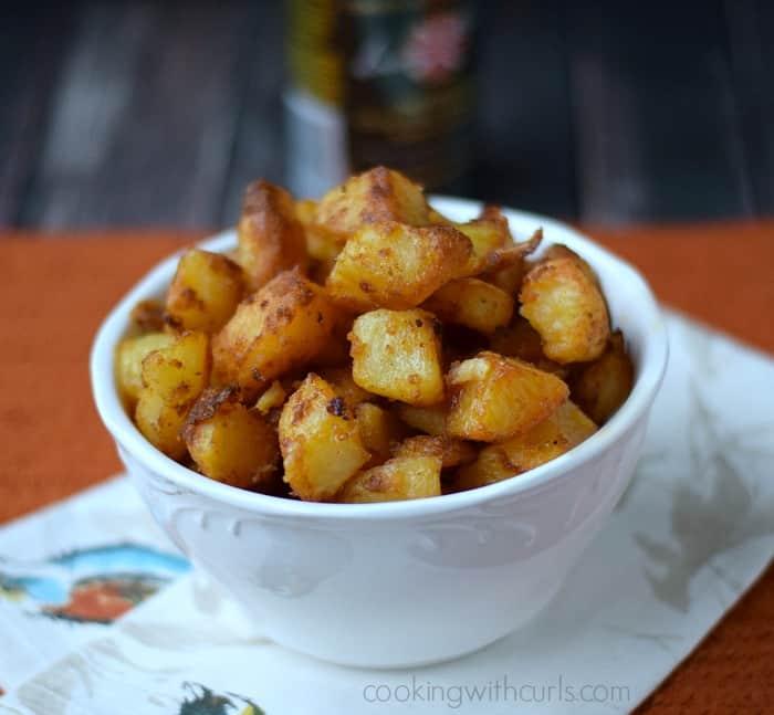 Crispy Roast Potatoes | cookingwithcurls.com | #harrypotter