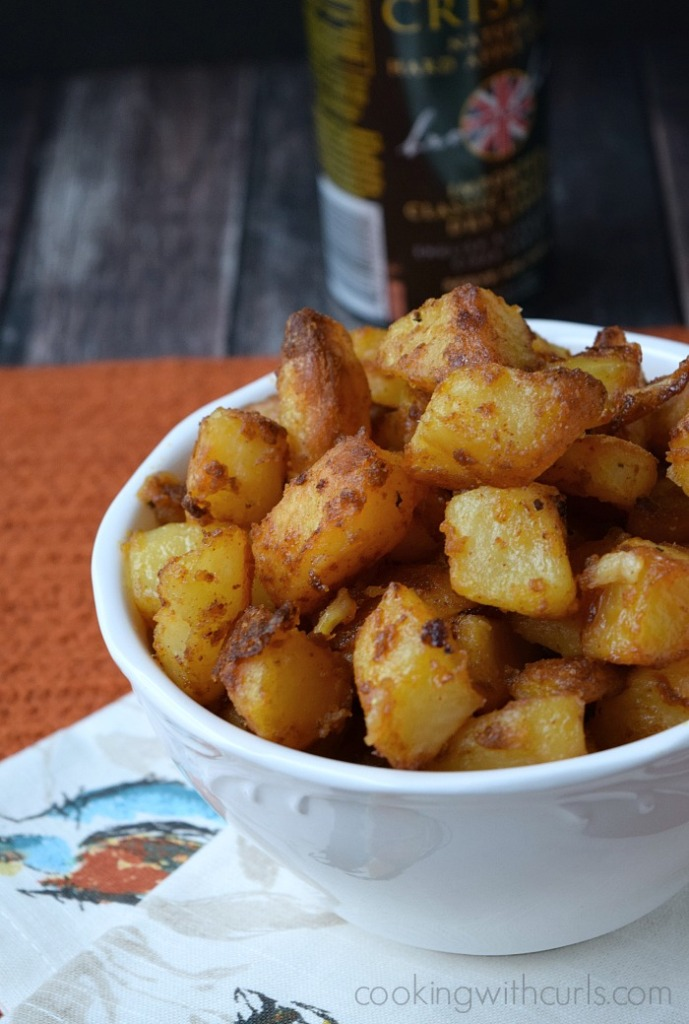 Crispy Roast Potatoes | cookingwithcurls.com