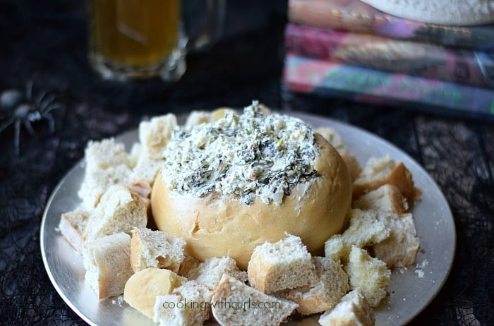 Spinach Dip {Gillyweed Dip}   cookingwithcurls.com   #harrypotter