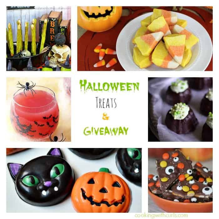 Halloween Treats & Giveaway | cookingwithcurls.com