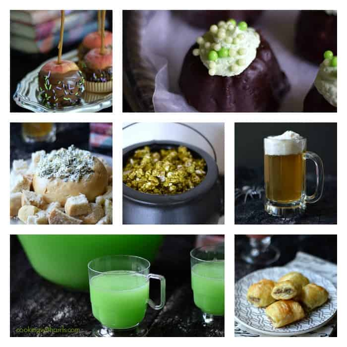 Harry Potter Party Food Collage | cookingwithcurls.com