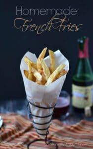 Homemade French Fries! cookingwithcurls.com