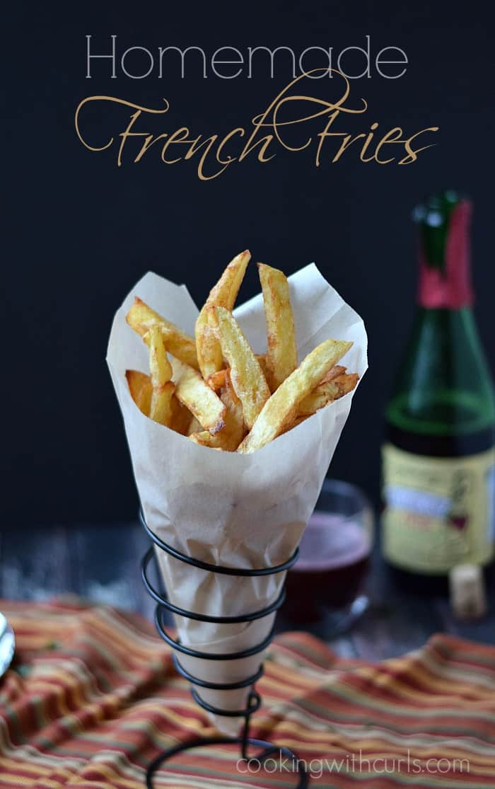 Homemade French Fries | cookingwithcurls.com | #foodoftheworld