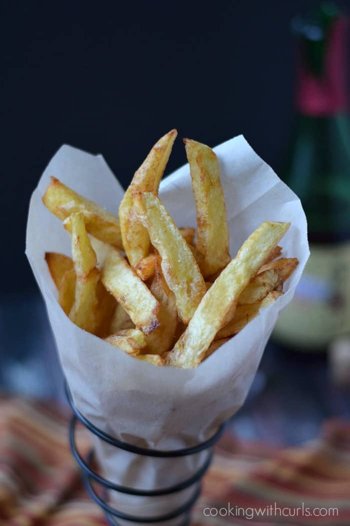 Homemade French Fries | cookingwithcurls.com