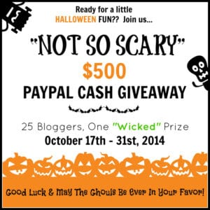 Not So Scary Halloween Giveaway