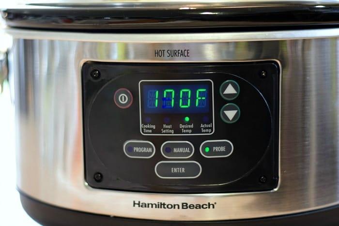 Slow Cooker Lemon Rosemary Chicken final temp cookingwithcurls.com
