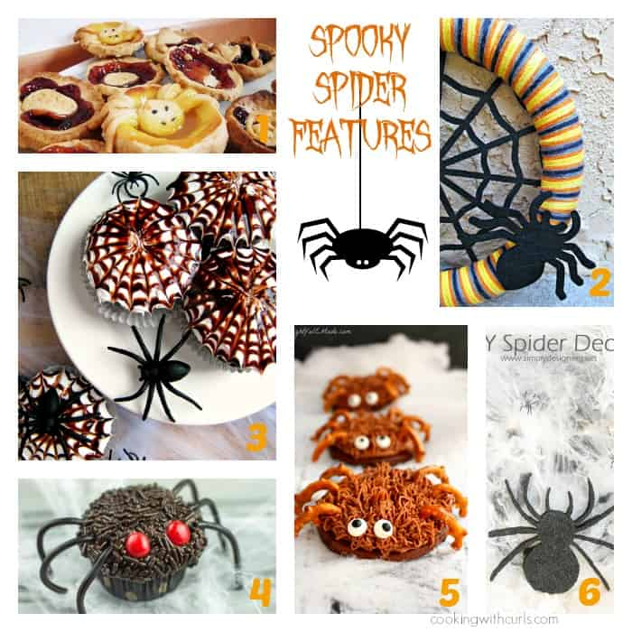Spooky Spider Features | cookingwithcurls.com