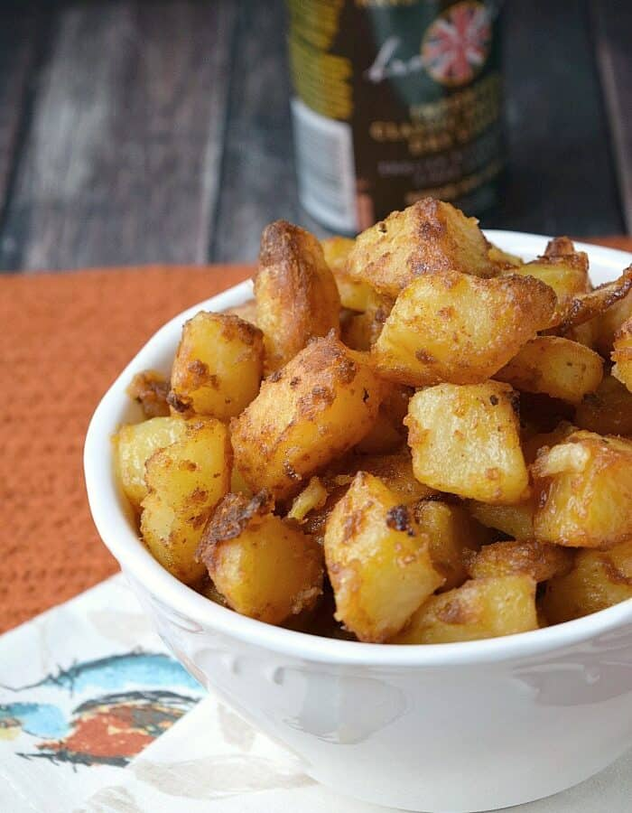 These are the most flavorful Crispy Roast Potatoes you'll ever eat! cookingwithcurls.com