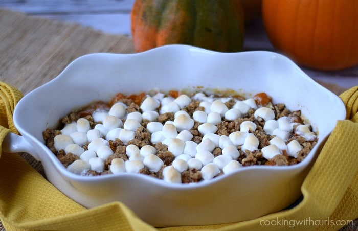 Candied Sweet Potatoes | cookingwithcurls.com #thanksgiving