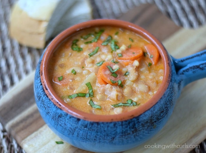 Maltese Soup {Kusksu} cookingwithcurls.com