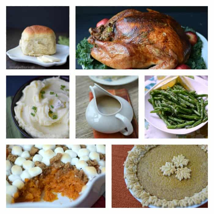 Thanksgiving Meal | cookingwithcurls.com