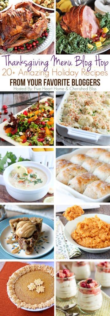 Thanksgiving Recipe Blog Hop   cookingwithcurls.com   #thanksgivingrecipes