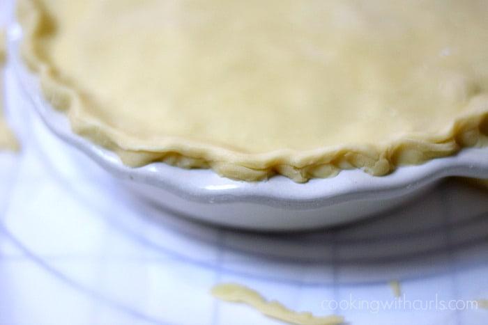 Turkey Pot Pie crimp cookingwithcurls.com