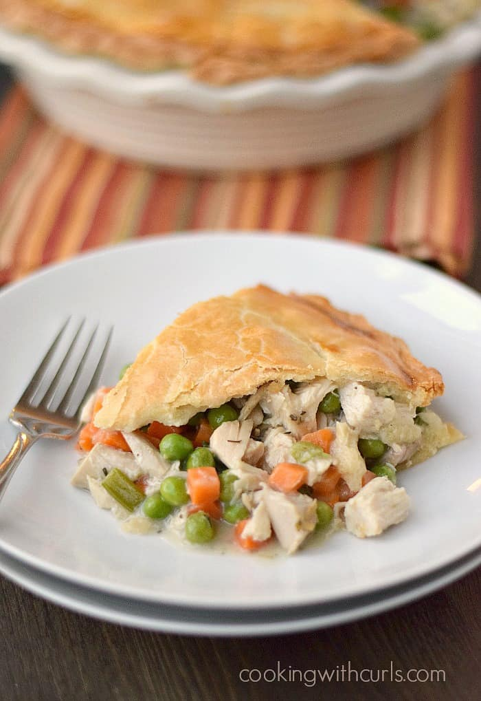 Why yes, you can make your Turkey Pot Pie dairy-free if you need to! cookingwithcurls.com