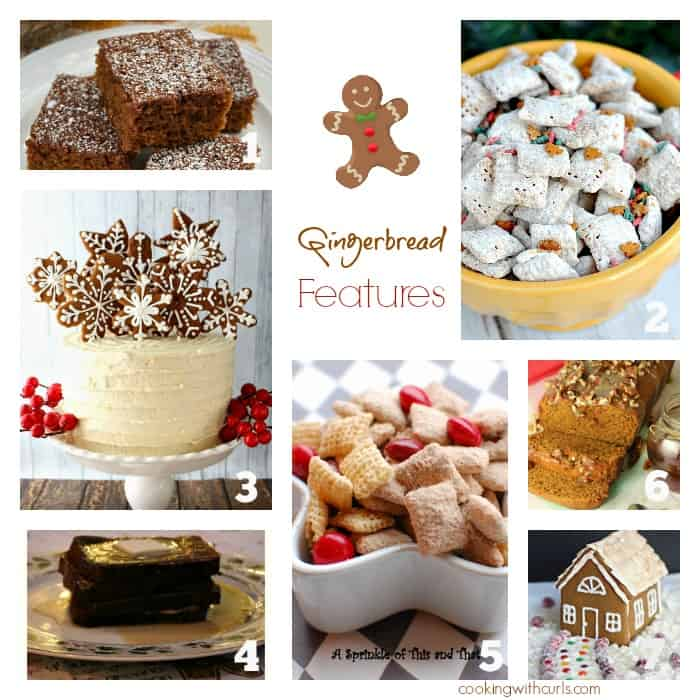 Best of the Weekend Gingerbread Features | cookingwithcurls.com