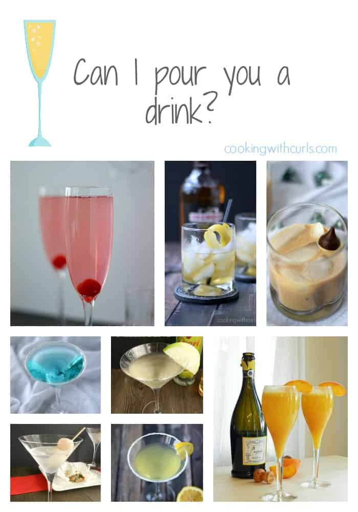 Can I pour you a drink | cookingwithcurls.com