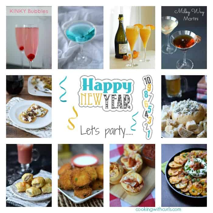 Happy New Year Collage | cookingwithcurls.com #2015