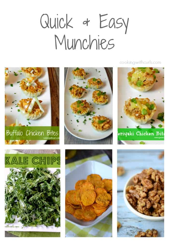 Quick and Easy Munchies | cookingwithcurls.com