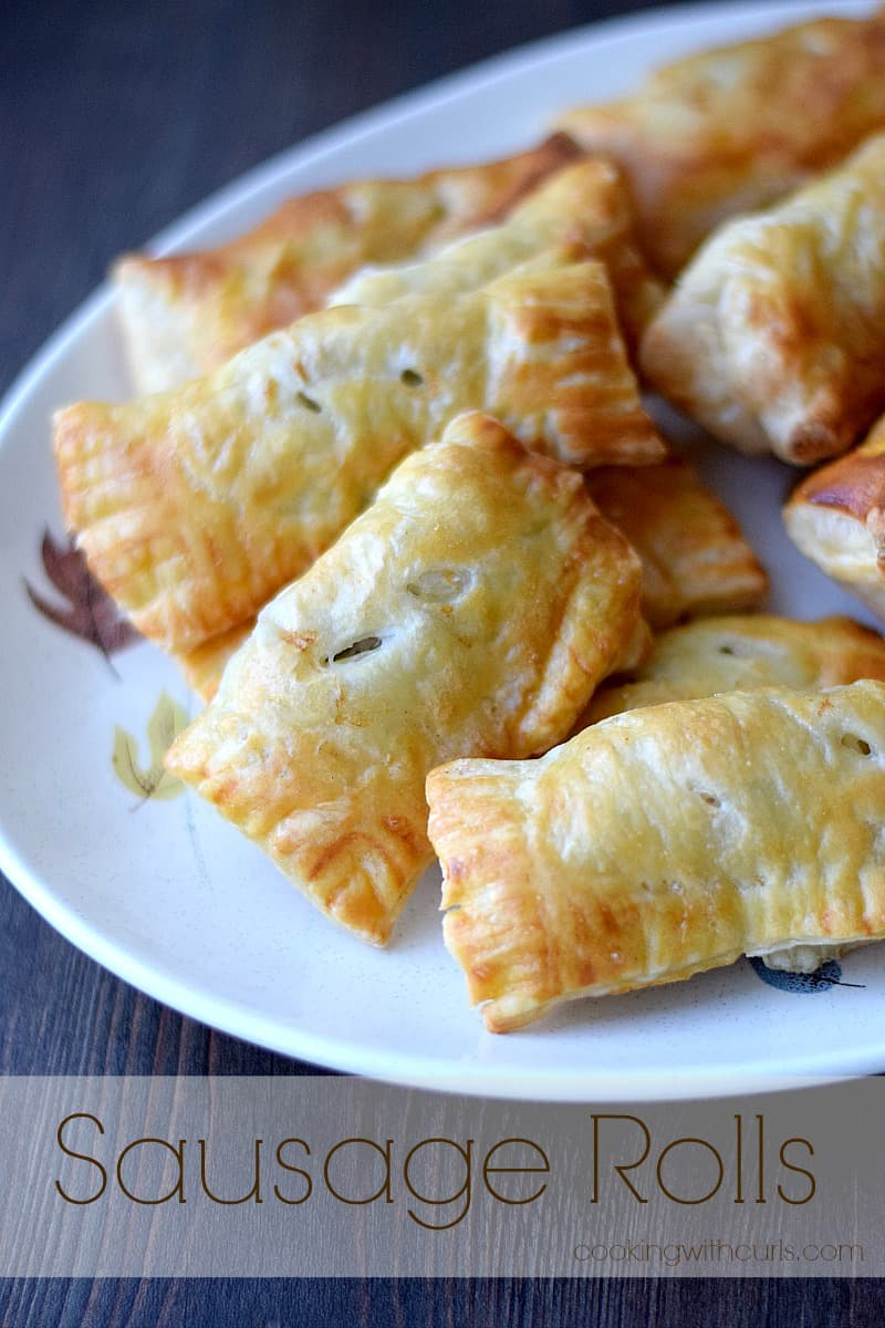 Sausage Rolls | cookingwithcurls.com