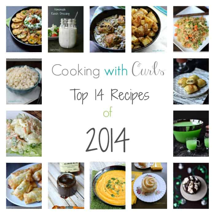 Top 14 Recipes of 2014 | cookingwithcurls.com