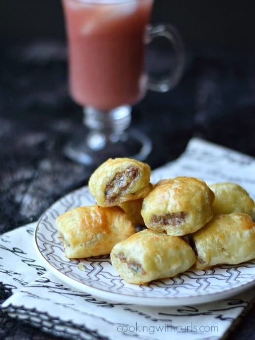 Game Day Snacks - Puff Pastry Sausage Rolls