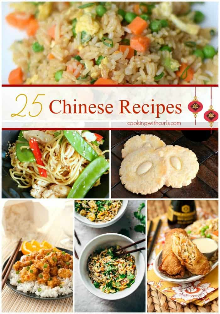 25 Chinese Recipes that taste better than takeout | cookingwithcurls.com