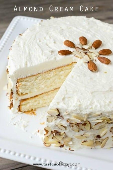 Almond Cream Cake 450