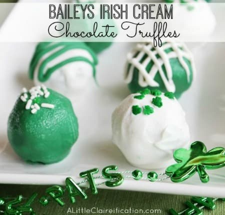Baileys Irish Cream Chocolate Truffles 450