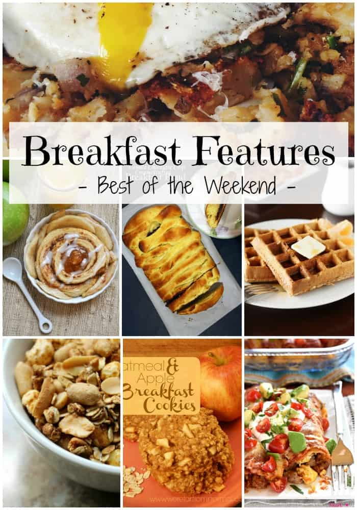 Best of the Weekend Breakfast Features | cookingwithcurls.com