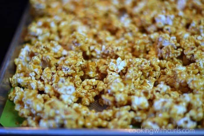 Honey Lemon Popcorn baked cookingwithcurls.com