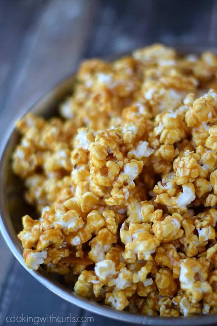 Honey Lemon Popcorn  cookingwithcurls.com