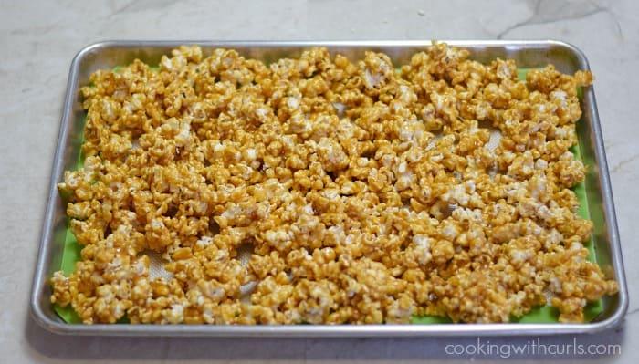 Honey Lemon Popcorn spread cookingwithcurls.com