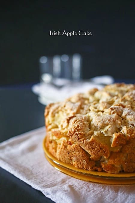 Irish Apple Cake 450