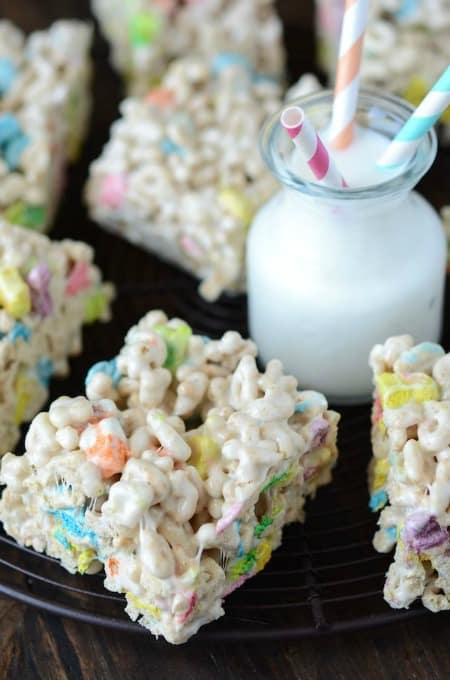 Lucky Charm Marshmallow Treats 450