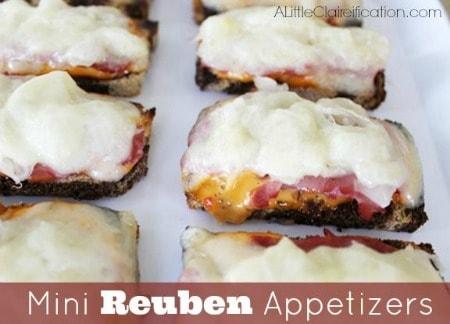 Mini Reuben Appetizers 450