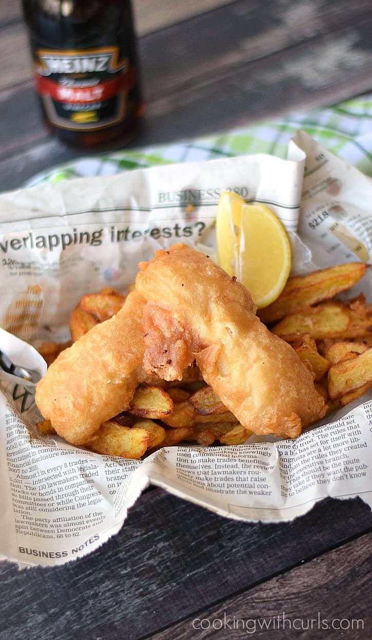 My all-time favorite meal, Beer Batter Fish & Chips! cookingwithcurls.com