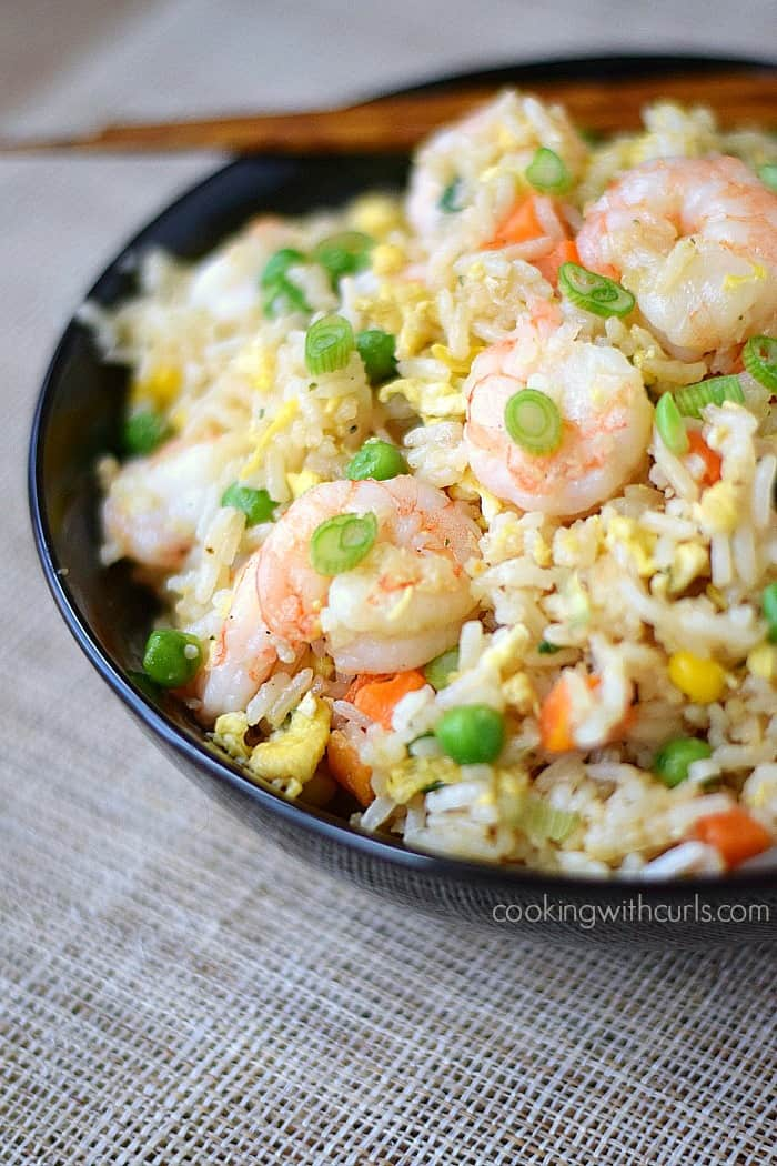 Shrimp Fried Rice cookingwithcurls.com