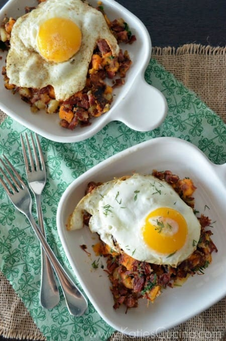 Sweet Potato Corned Beef Hash 450