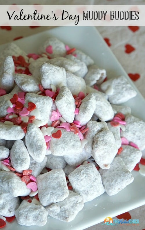 Valentines Day Muddy Buddies 500