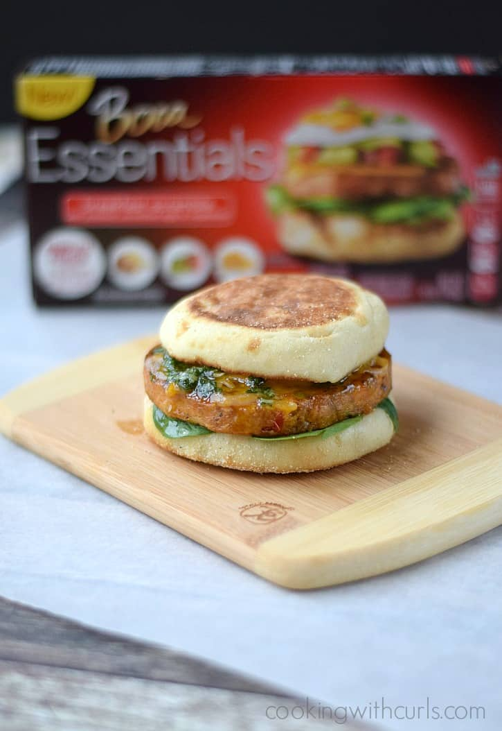 BOCA Essentials Breakfast Scramble Sandwich  cookingwithcurls.com #bocaessentials #CleverGirls