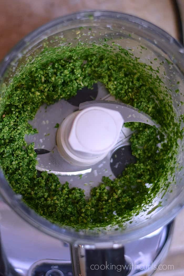 Basil Pesto Process cookingwithcurls.com