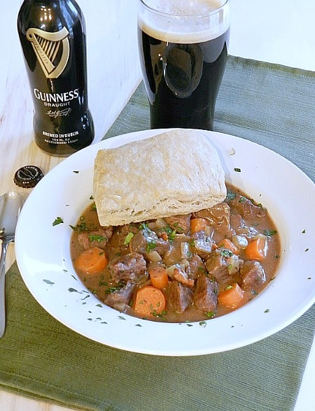 Beef Stew with Guinness Biscuits cookingwithcurls.com450