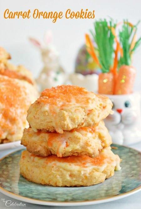 Carrot Orange Cookies450