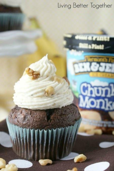 Chunky Monkey Cupcakes450