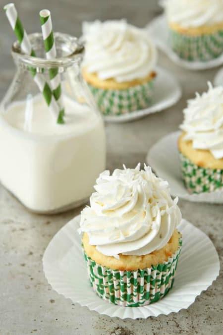 Coconut Cupcakes450