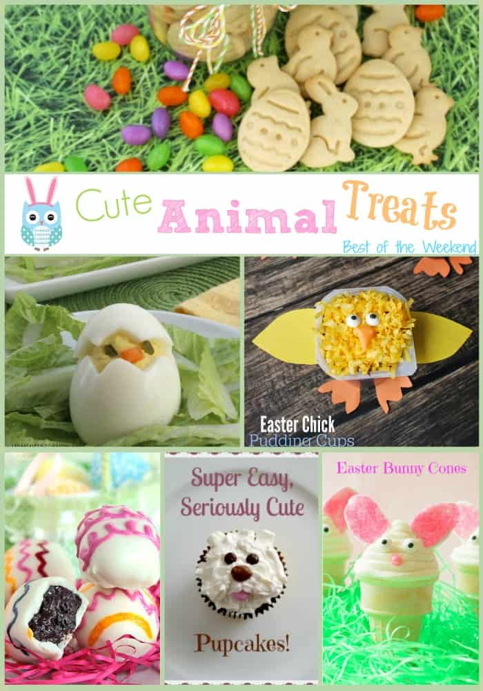 Cute Animal Treats at Best of the Weekend | cookingwithcurls.com