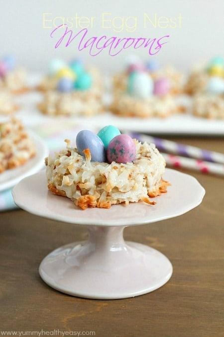 Easter Egg Nest Macaroons450